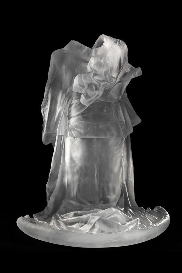 S Glass Sculptures