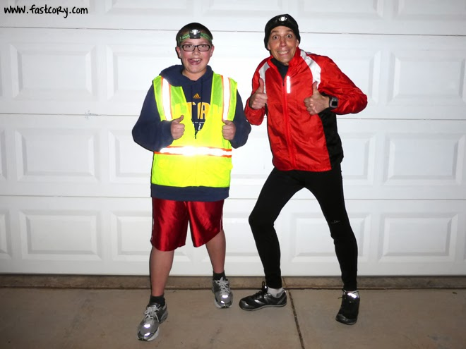 Marathon around the block
