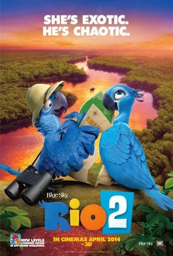 Rio 2 (BRRip HD Español Latino) (2014)