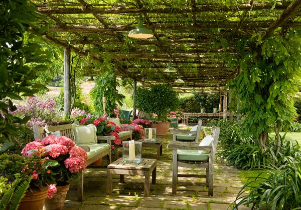 Il giardino di fasti floreali casa a portofino con vista mare - Most beautiful house interiors ...