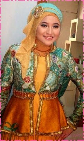 Foto Model Baju Kebaya Muslim 2014