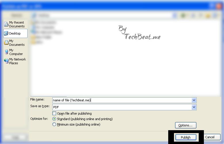 PDF files Microsoft Word