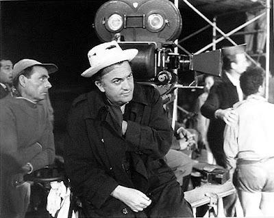 Italian master filmmaker, Federico Fellini, Camera, best films
