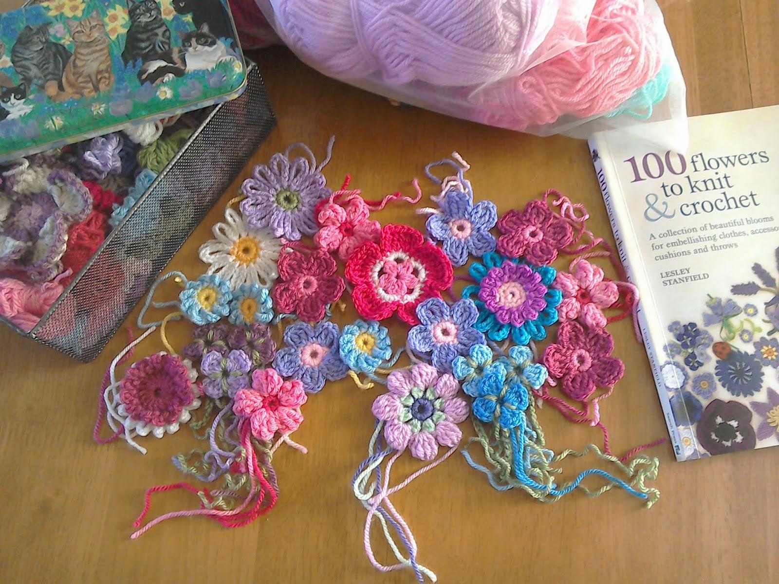 Cuppa Crochet Pretty Flowers