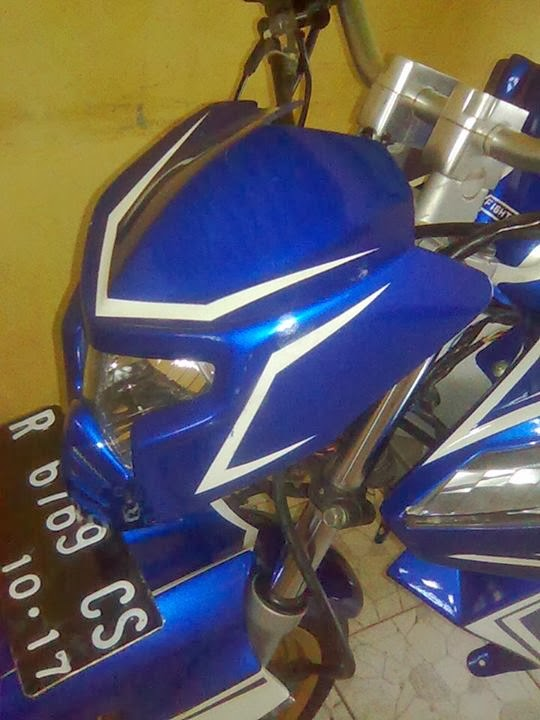 modifikasi vixion 2013 streetfighter headlamp title=