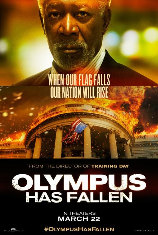 morgan freeman olympus has fallen teaser trailer