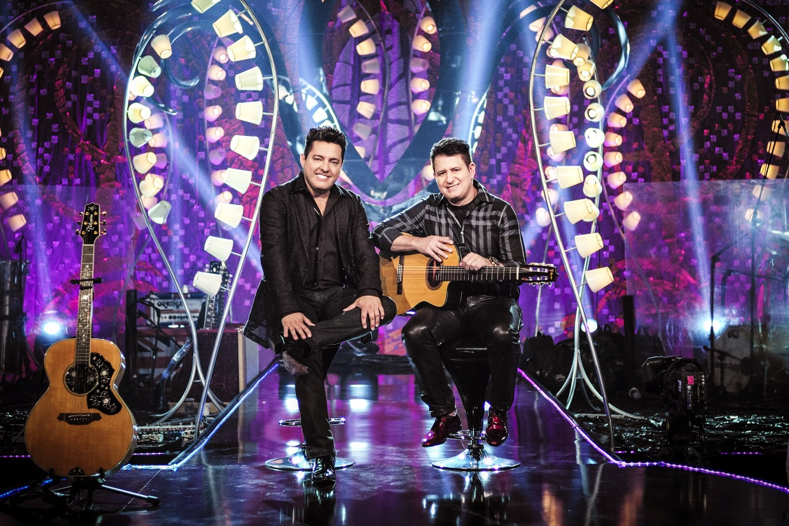 Bruno e Marrrone em show em Brasilia