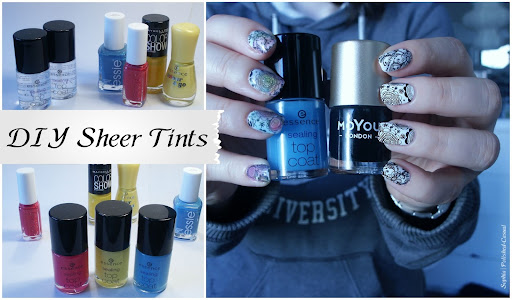 Easy & Colourful Stamping Nails with DIY Sheer Tints