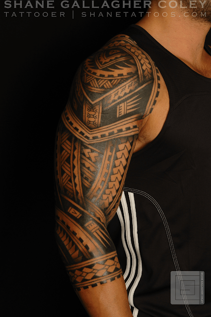 shane tattoos polynesian sleeve tatau tattoo. Black Bedroom Furniture Sets. Home Design Ideas
