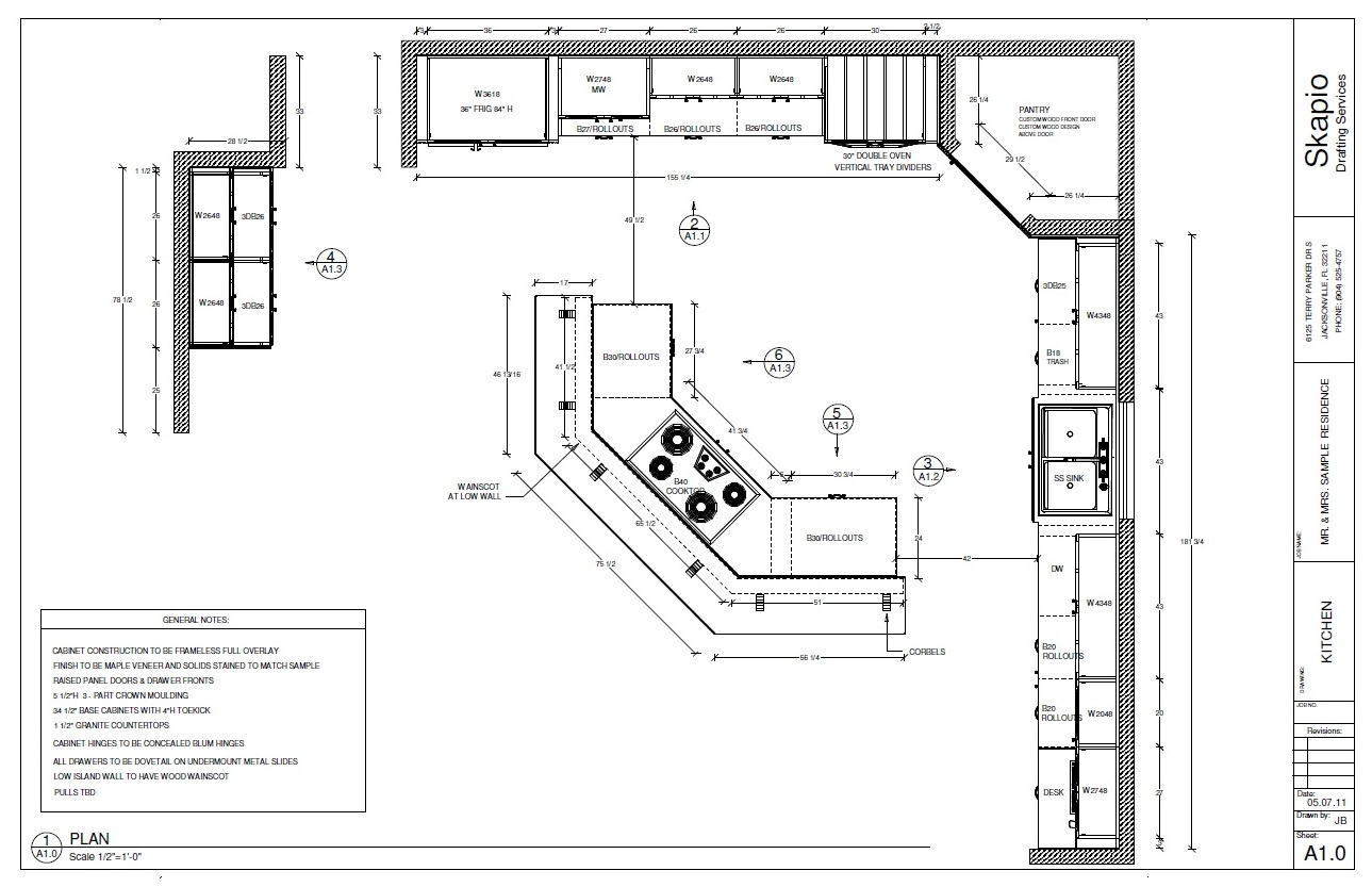 Cadkitchenplans com millwork shop drawings cabinet shop drawings - We Are Also Experienced On The Creation Of Both Approval Drawings And Manufacturing Drawings For A Wide Array Of Cabinetry