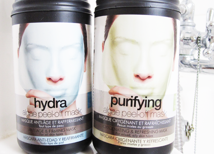 Casmara Purifying & Hydra Algae Peel Off Masks review