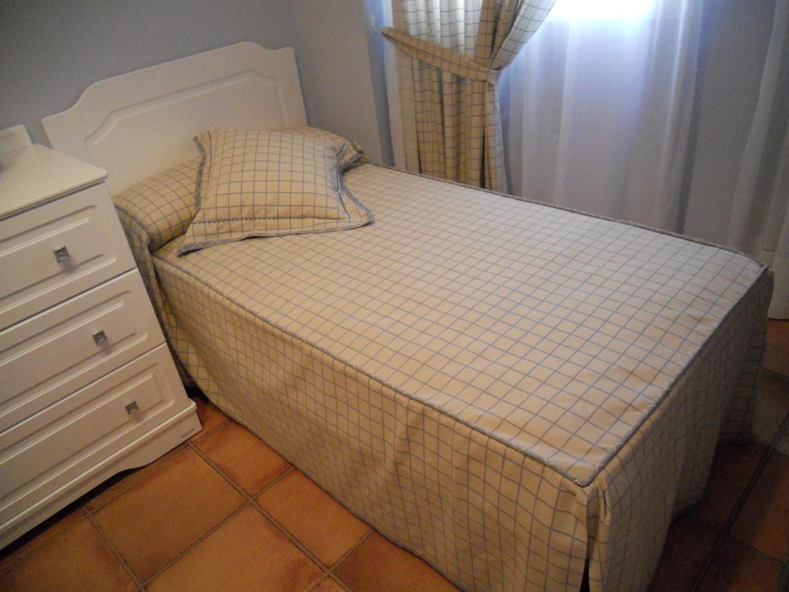 Coser es divertido c mo hacer una colcha para una cama de 90 - Hacer una cama abatible ...