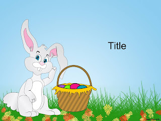 Free download Easter PowerPoint template 008A