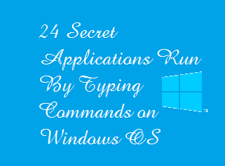 24 Secret Applications of Windows