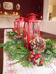 Centros de Mesa de Navidad Rojos, parte 5