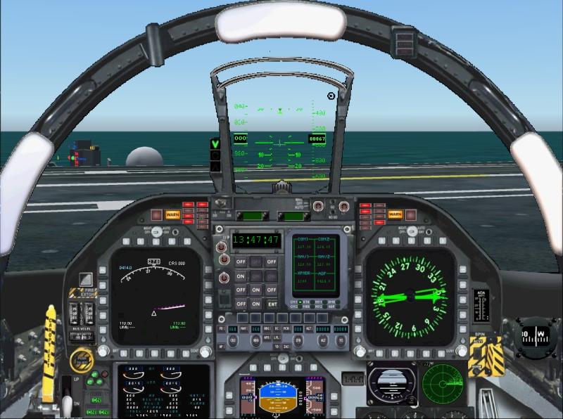 F 18 Cockpit Go Back > Galle...