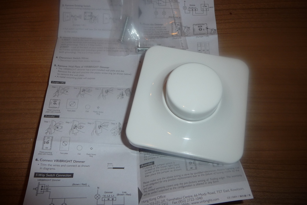 Mein Testblog: Nicki testet den Viribright LED und Halogen Dimmer ...