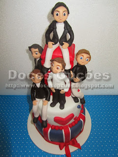 bolo dos One Direction portugal