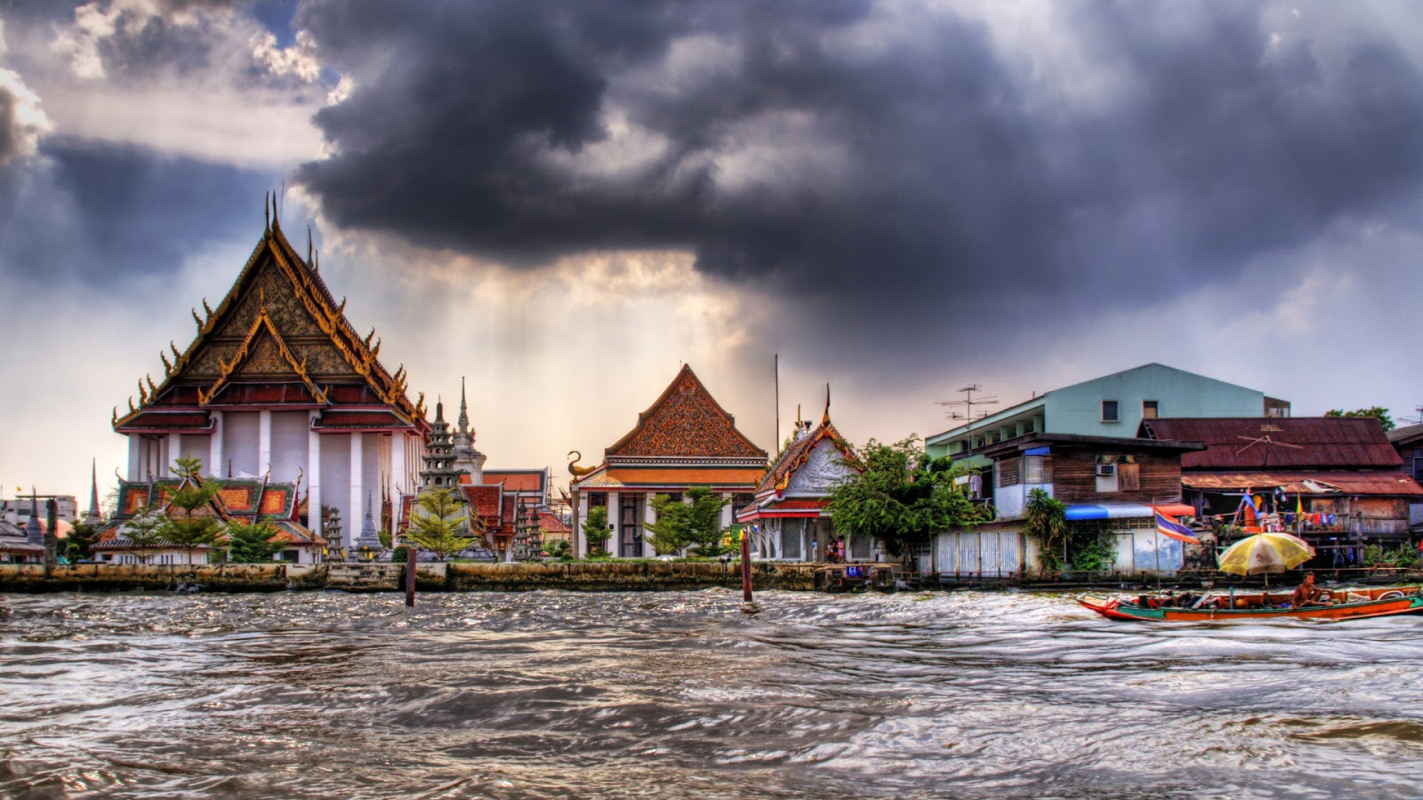 Beautiful Morning in Bangkok HDR