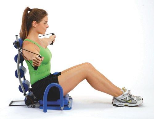Máy tập cơ bụng giúp cho vòng eo luôn được thon gọn.