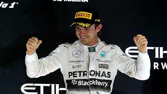 Nico Rosberg se lleva el Gran Premio de Abu Dhabi