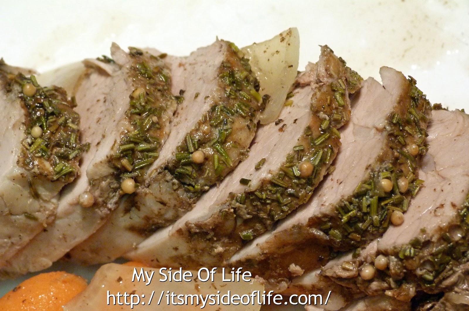 how to prepare a pork tenderloin in the oven