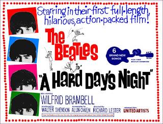 """Site faz petição para relançar filme """"A Hard Day's Night"""" colorido em comemoração aos 50 anos"""