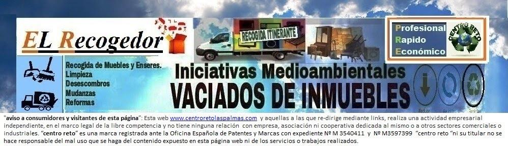 RECOGIDA DE MUEBLES Y VACIADOS LAS PALMAS