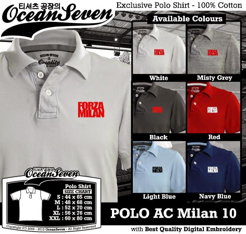 Kaos Polo AC Milan 10