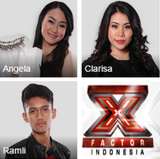 X factor indonesia yang pulang / Tereliminasi jumat 31 juli 2015