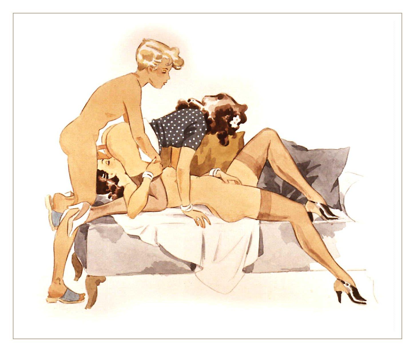 Cuckold erotic art