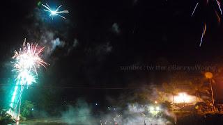 Tahun Baru di Sungai Serayu