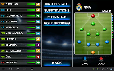 PES 2012 For Galaxy Tab