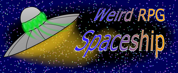 Weird RPG Spaceship
