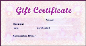13909 Antiques Gift Certificates Available!