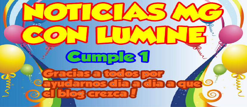 NOTICIAS MG CON LUMINE