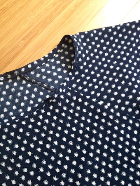 Diary of a Chain Stitcher: Italian Silk Emmeline Tee