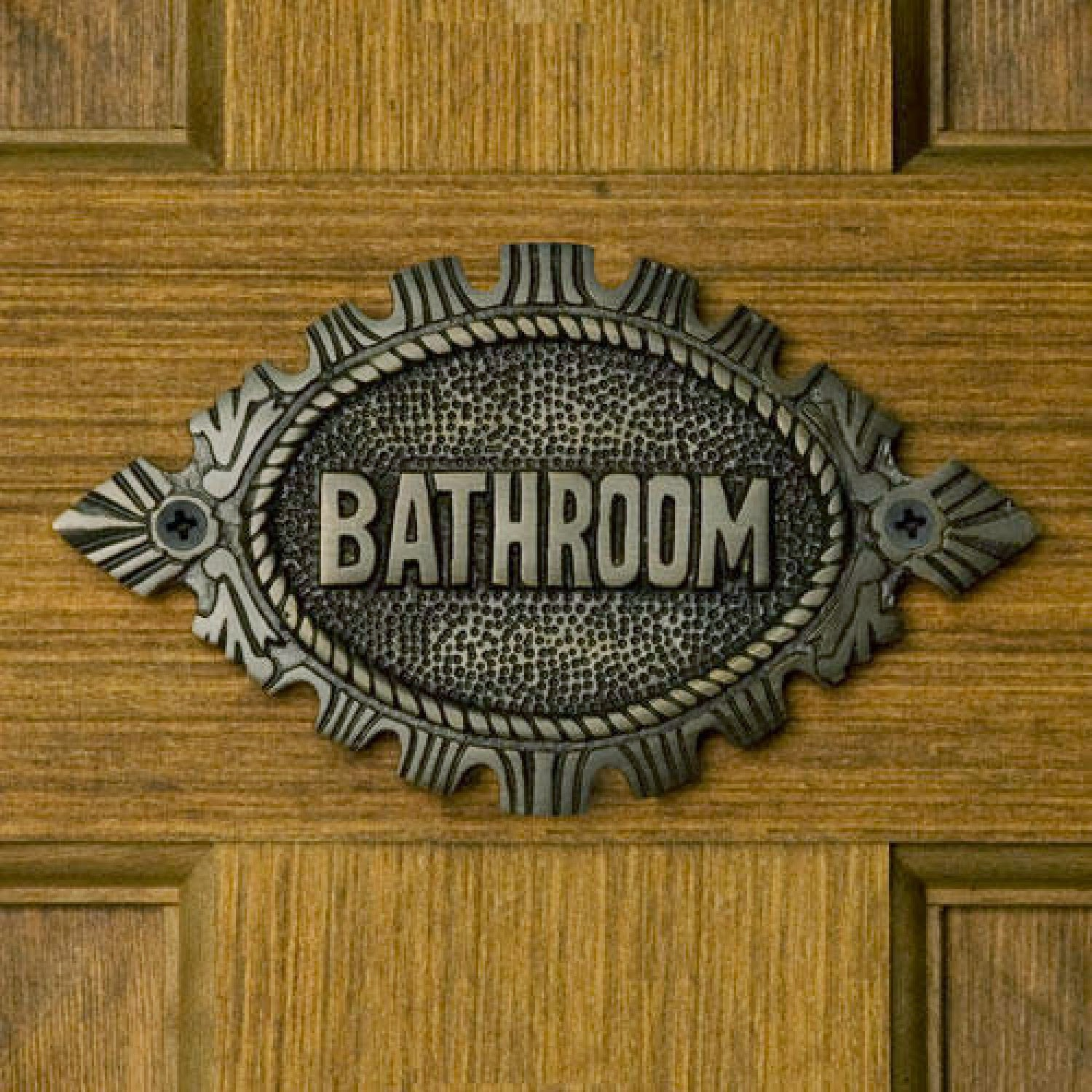 Click The Image To Enlarge And Enjoy The Antique Bathroom Sign Ideas.