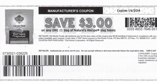 Manufacturer Coupons Pedigree Dog Food