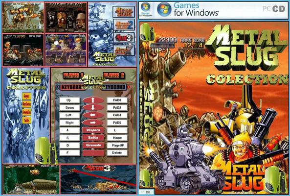 تحميل لعبة metal slug (machinga)