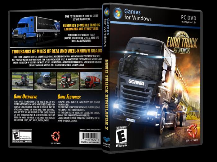 Euro Truck Simulator 2 Crack+MOD