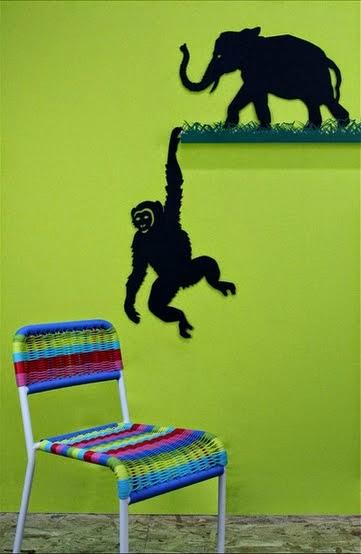 chroniques d 39 une maman les ombres murales articul es de coco d 39 en haut. Black Bedroom Furniture Sets. Home Design Ideas