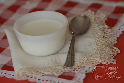 Homemade yogurt in crock pot,  Homemade yogurt in slow cooker.