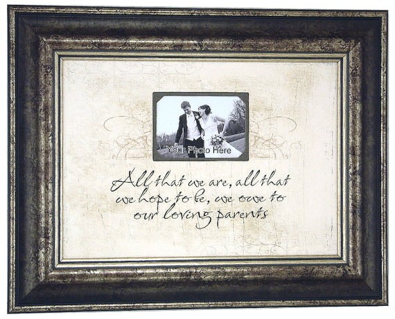 Special Wedding Gifts From Parents : ... Wedding+Thank+You+Gift+Ideas+for+your+Parents+-+Personalized+Picture