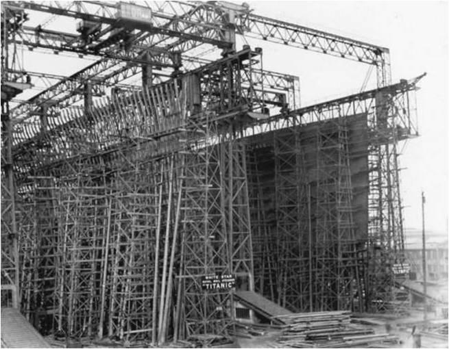 Alma de herrero la construcci n del titanic - Construccion del titanic ...