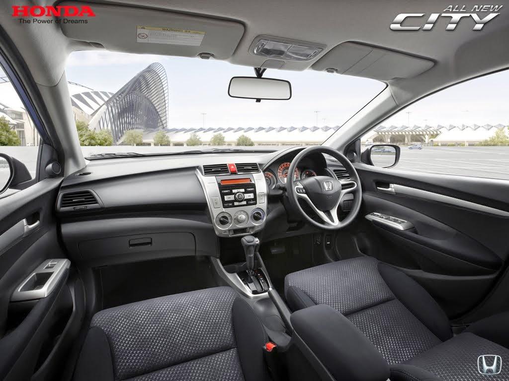 Interior Mobil honda City 2014