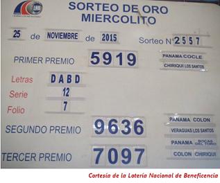 resultados-sorteo-miercoles-25-de-noviembre-2015-loteria-nacional-de-panama