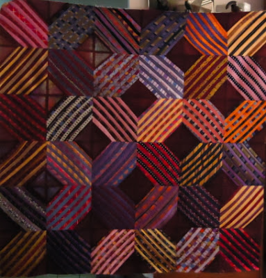 how to make a silk tie quilt