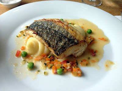 Stitch and Bear - The Table Portobello - Hake with pomme puree and broth
