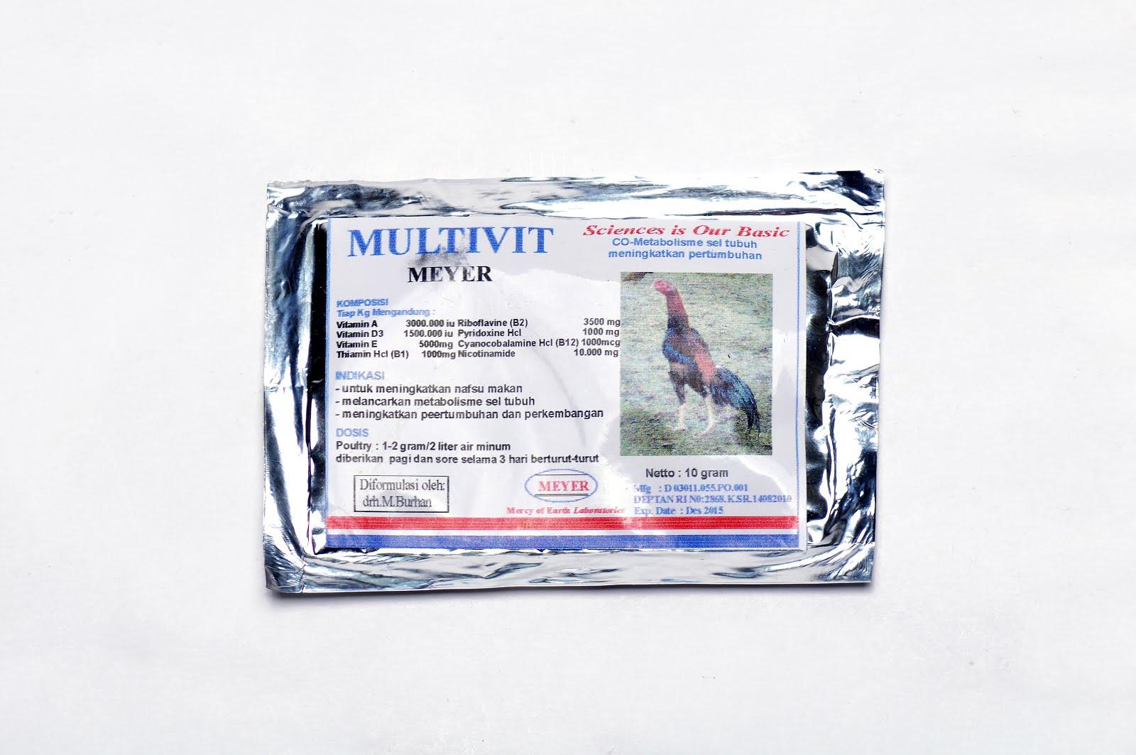Multivit Meyer (untuk Unggas)